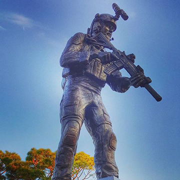 Ready Soldier Special Tactics Statue