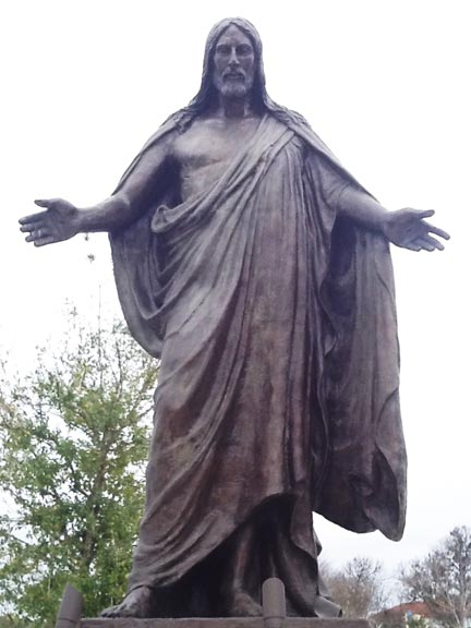 Risen Jesus Christ Bronze Monument